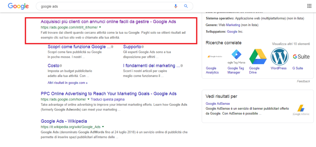 google ads immobiliare