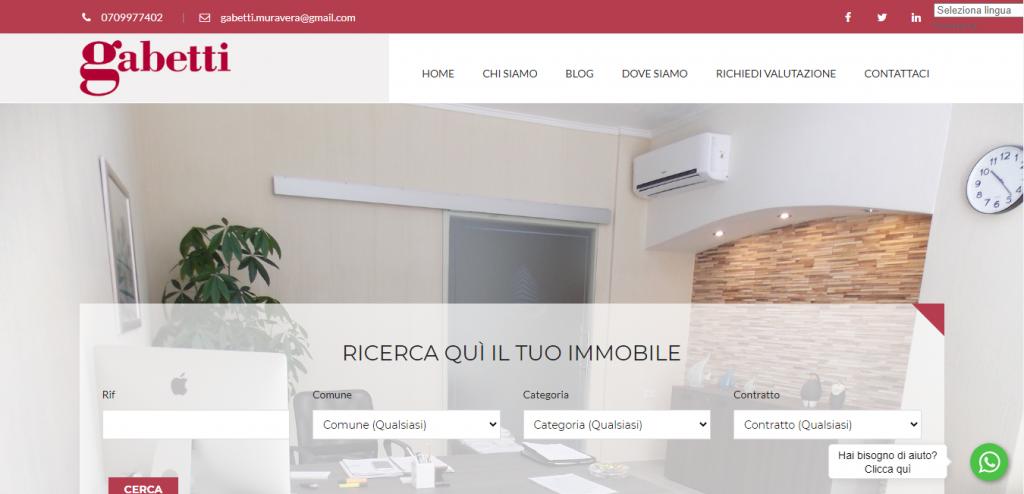 agenzia immobiliare Muravera Gabetti