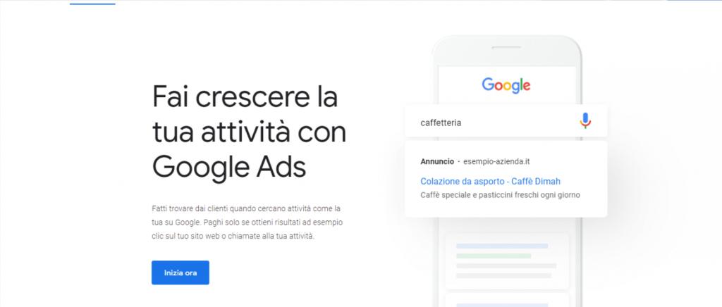 google ads marketing immobiliare
